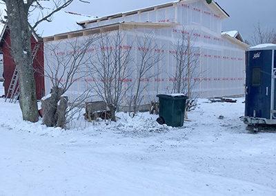 Klinikbygge - vinter 2019.